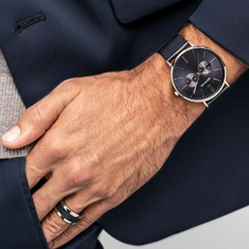 BERING Herren Analog Quarz Uhr mit Edelstahl Armband 14240-303 - 5
