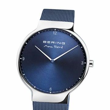 BERING Herren Analog Quarz Uhr mit Edelstahl Armband 15540-307 - 2