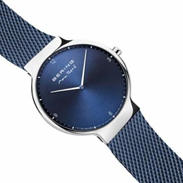 BERING Herren Analog Quarz Uhr mit Edelstahl Armband 15540-307 - 3