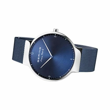 BERING Herren Analog Quarz Uhr mit Edelstahl Armband 15540-307 - 4