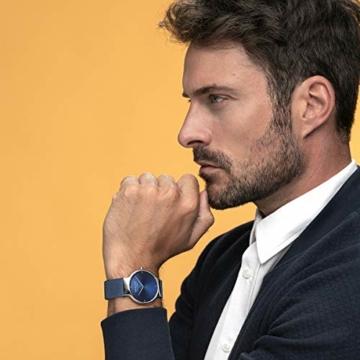 BERING Herren Analog Quarz Uhr mit Edelstahl Armband 15540-307 - 6
