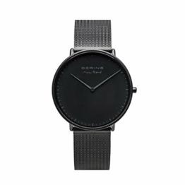 BERING Herren Analog Quarz Uhr mit Edelstahl Armband 15738-123 - 1