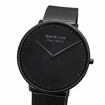 BERING Herren Analog Quarz Uhr mit Edelstahl Armband 15738-123 - 3