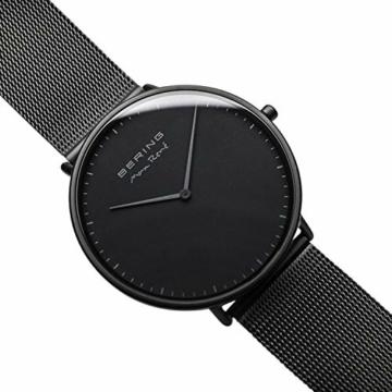 BERING Herren Analog Quarz Uhr mit Edelstahl Armband 15738-123 - 4