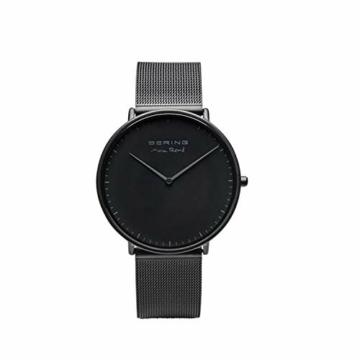 BERING Herren Analog Quarz Uhr mit Edelstahl Armband 15738-123 - 5