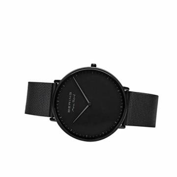 BERING Herren Analog Quarz Uhr mit Edelstahl Armband 15738-123 - 6