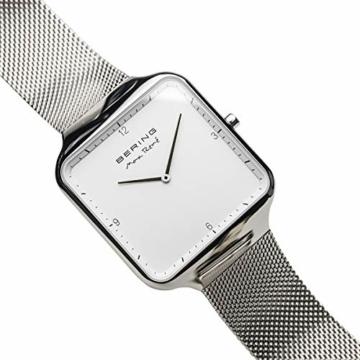 BERING Herren Analog Quarz Uhr mit Edelstahl Armband 15836-004 - 2