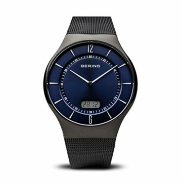 Bering Herren Analog Quarz Uhr mit Edelstahl Armband 51640-227 - 1