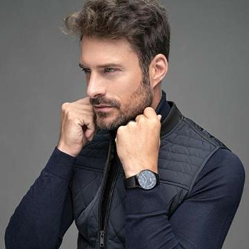 Bering Herren Analog Quarz Uhr mit Edelstahl Armband 51640-227 - 2