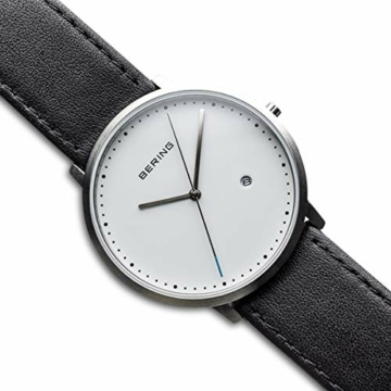 Bering Herren Analog Quarz Uhr mit Leder Armband 11139-404 - 3