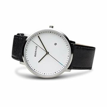 Bering Herren Analog Quarz Uhr mit Leder Armband 11139-404 - 4