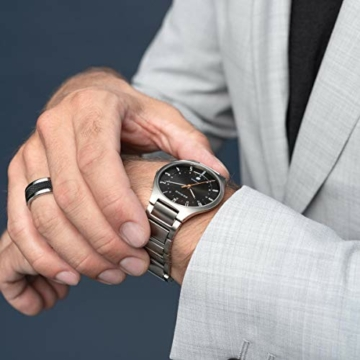 Bering Herren Analog Quarz Uhr mit Titan Armband 11739-772 - 5