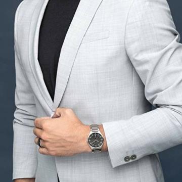 Bering Herren Analog Quarz Uhr mit Titan Armband 11739-772 - 6