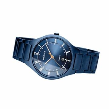 BERING Herren Analog Quarz Uhr mit Titan Armband 11739-797 - 5