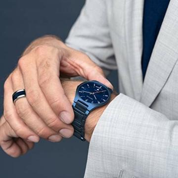 BERING Herren Analog Quarz Uhr mit Titan Armband 11739-797 - 7