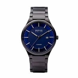 BERING Herren Analog Quarz Uhr mit Titan Armband 15239-727 - 1