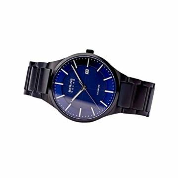BERING Herren Analog Quarz Uhr mit Titan Armband 15239-727 - 5