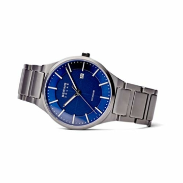 BERING Herren Analog Quarz Uhr mit Titan Armband 15239-777 - 4