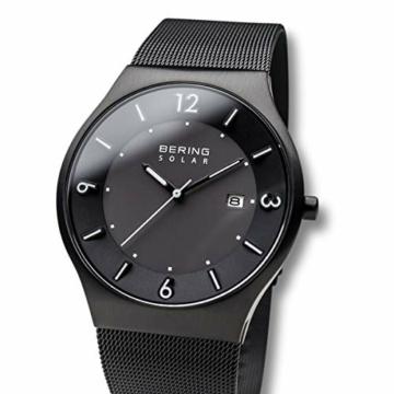 Bering Herren Analog Solar Armbanduhr mit Edelstahl Armband 14440-222 - 2