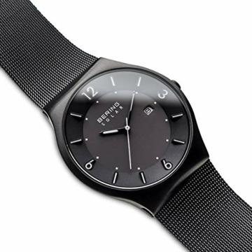 Bering Herren Analog Solar Armbanduhr mit Edelstahl Armband 14440-222 - 3