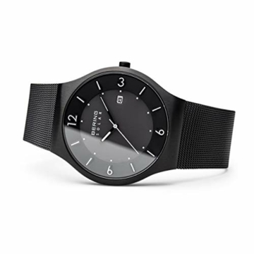 Bering Herren Analog Solar Armbanduhr mit Edelstahl Armband 14440-222 - 4