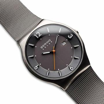 Bering Herren Analog Solar Uhr mit Edelstahl Armband 14440-077 - 3