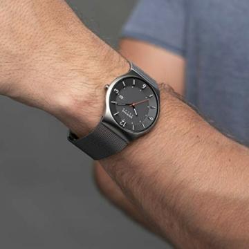 Bering Herren Analog Solar Uhr mit Edelstahl Armband 14440-077 - 6