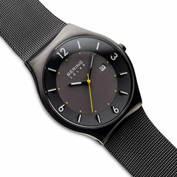 BERING Herren Analog Solar Uhr mit Edelstahl Armband 14440-223 - 3