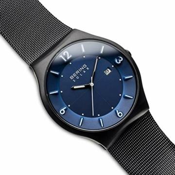 Bering Herren Analog Solar Uhr mit Edelstahl Armband 14440-227 - 3