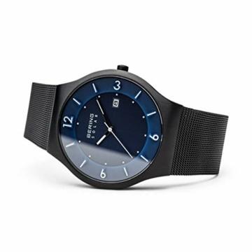 Bering Herren Analog Solar Uhr mit Edelstahl Armband 14440-227 - 4
