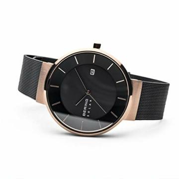 BERING Herren Analog Solar Uhr mit Edelstahl Armband 14639-166 - 4