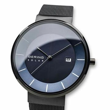 BERING Herren Analog Solar Uhr mit Edelstahl Armband 14639-227 - 2