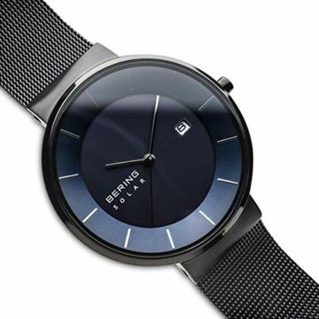 BERING Herren Analog Solar Uhr mit Edelstahl Armband 14639-227 - 3