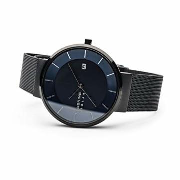 BERING Herren Analog Solar Uhr mit Edelstahl Armband 14639-227 - 4