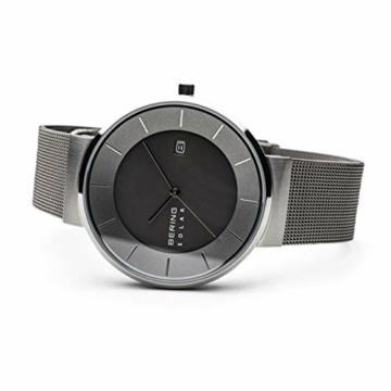 BERING Herren Analog Solar Uhr mit Edelstahl Armband 14639-309 - 4