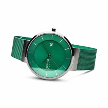 BERING Herren Analog Solar Uhr mit Edelstahl Armband 14639-Charity - 4