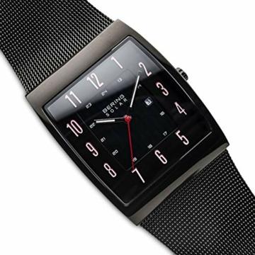 Bering Herren Analog Solar Uhr mit Edelstahl Armband 16433-122 - 2