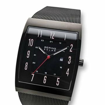 Bering Herren Analog Solar Uhr mit Edelstahl Armband 16433-122 - 3