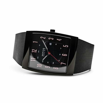 Bering Herren Analog Solar Uhr mit Edelstahl Armband 16433-122 - 4