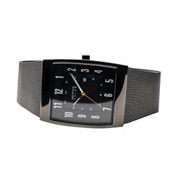 BERING Herren Analog Solar Uhr mit Edelstahl Armband 16433-377 - 5
