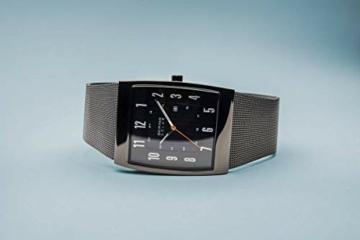 BERING Herren Analog Solar Uhr mit Edelstahl Armband 16433-377 - 7