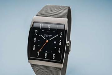 BERING Herren Analog Solar Uhr mit Edelstahl Armband 16433-377 - 9
