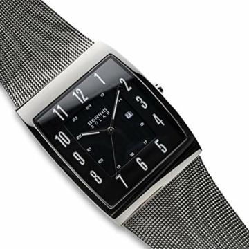 Bering Herren Analog Solar Uhr mit Milanaise Armband 16433-002 - 3