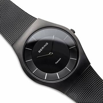 BERING Herren-Armbanduhr Analog Quarz Edelstahl 11935-222 - 3