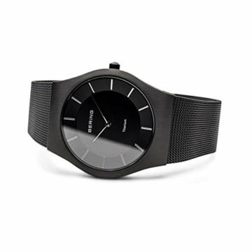 BERING Herren-Armbanduhr Analog Quarz Edelstahl 11935-222 - 4
