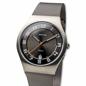 BERING Herren-Armbanduhr Analog Quarz Edelstahl 11937-007 - 2