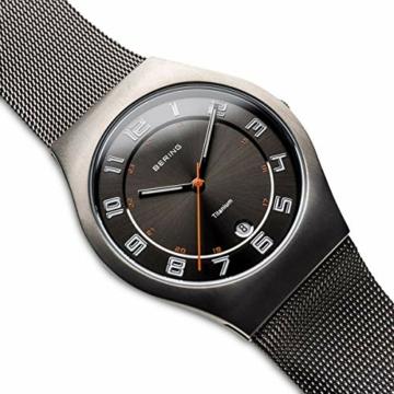 BERING Herren-Armbanduhr Analog Quarz Edelstahl 11937-007 - 3