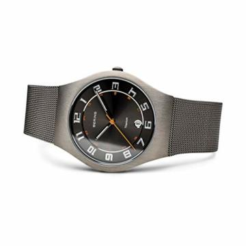 BERING Herren-Armbanduhr Analog Quarz Edelstahl 11937-007 - 4