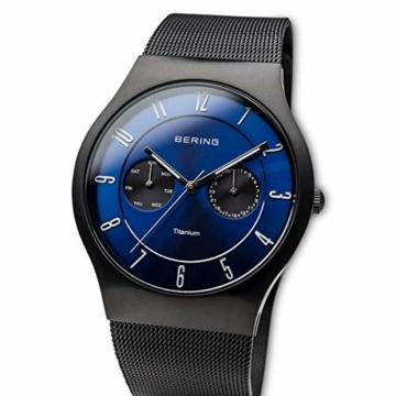 BERING Herren-Armbanduhr Analog Quarz Edelstahl 11939-078 - 2