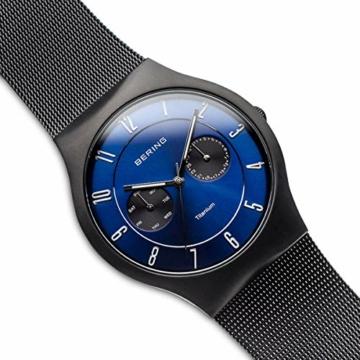 BERING Herren-Armbanduhr Analog Quarz Edelstahl 11939-078 - 3